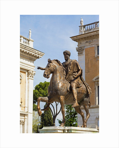 Piazza del Campidoglio, with copy of equestrian statue of Marcus Aurelius by Anonymous