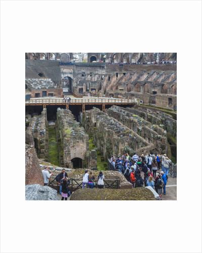 Rome, Italy. Colosseum interior by Anonymous