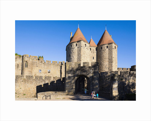 Carcassonne, France by Anonymous