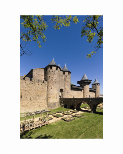 Carcassonne, France. Le Chateau by Anonymous