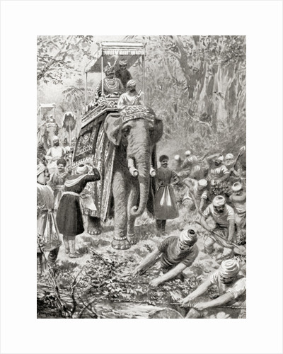 An inspection of Sher Shah Suri's Great North Road, (now The Grand Trunk Road) by Robert Dudley