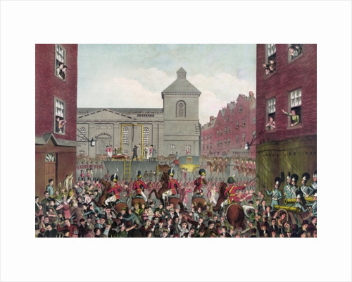 The execution of Robert Emmet on 20th September by English School