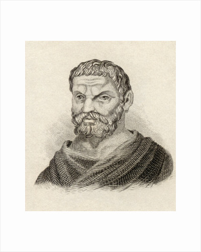 Thales of Miletus by English School