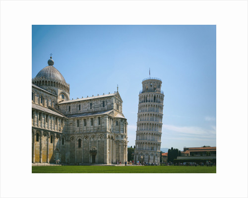 Cathedral and Leaning Tower, Pisa, Tuscany, Italy by Anonymous