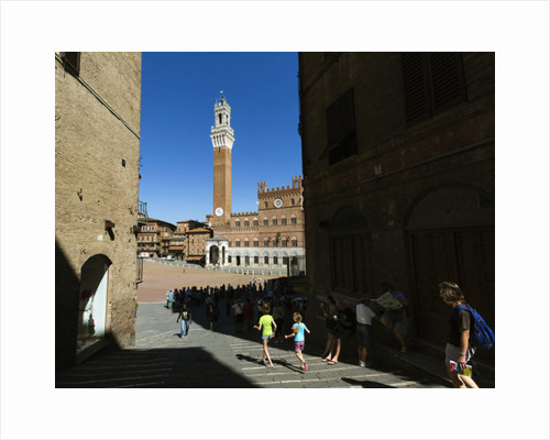 Duomo, or cathedral, Siena, Tuscany, Italy by Anonymous