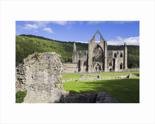 Tintern Abbey, Wales, United Kingdom by Anonymous