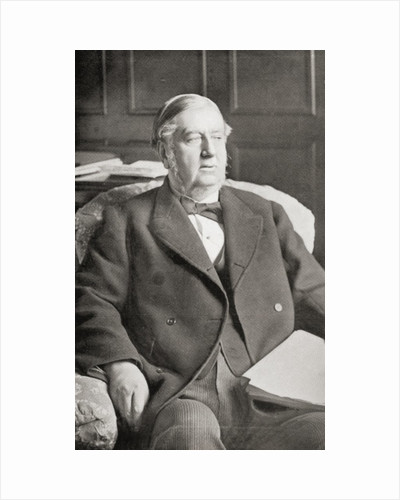 Sir William Harcourt by English School