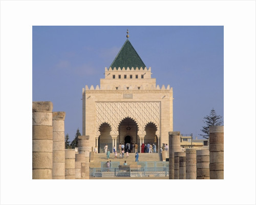 Mausoleum of King Mohamed V by Unknown