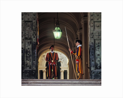 Swiss Guards by Unknown