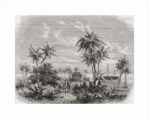 David Livingstone's house in Zanzibar, Tunisia, East Africa by Unknown