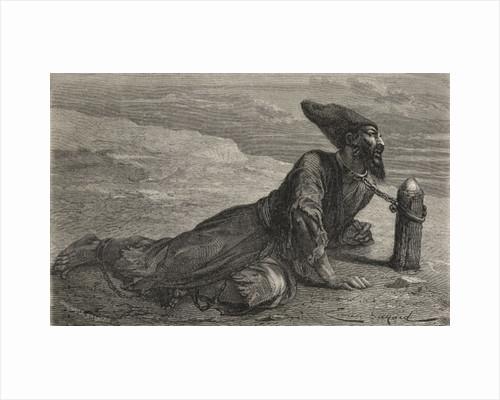 A Persian slave held captive in Turkey by Emile Antoine Bayard