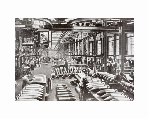A Krupp factory in Germany producing shells during the First World War by Anonymous
