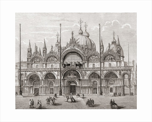 The Patriarchal Cathedral Basilica of Saint Mark, or Saint Mark's Basilica by Anonymous