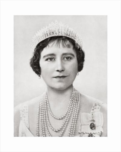 Queen Elizabeth, The Queen Mother by Anonymous