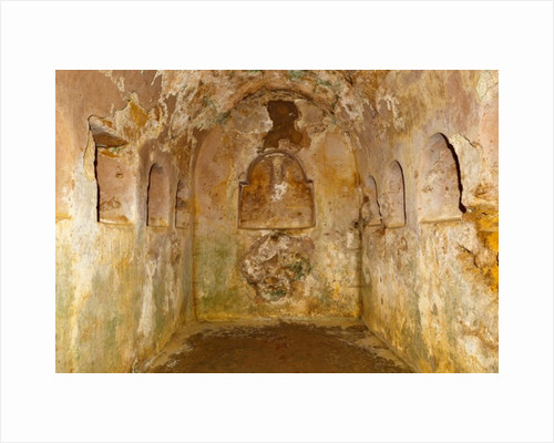 Underground chamber beneath the circular mausoleum in the Roman necropolis of the Archaeological Complex by Unknown