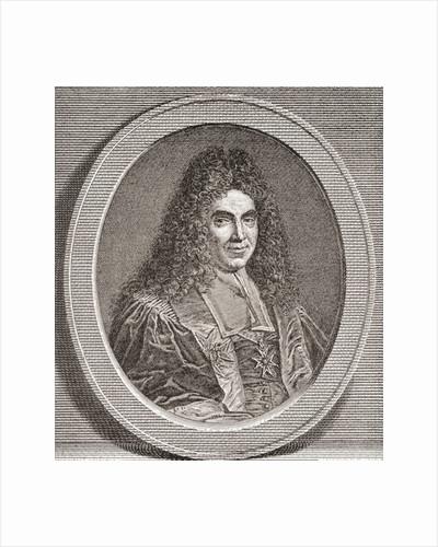 Marc-René de Voyer de Paulmy, 1st marquis d'Argenson. French politician by French School