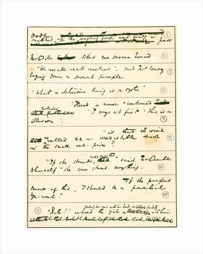 From the manuscript of Oliver Twist by Charles Dickens by From The Strand Magazine