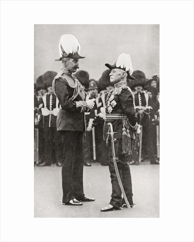 Lord Kitchener with Lord Roberts by Anonymous