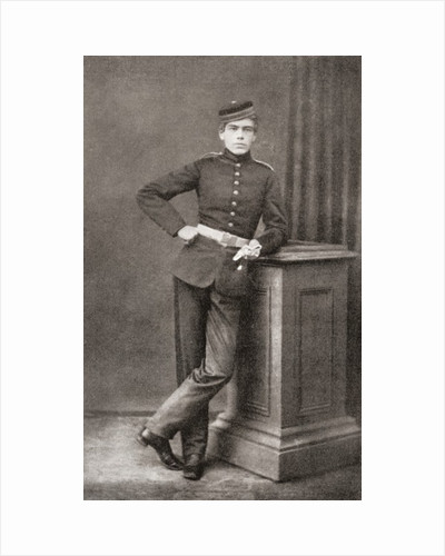 Lord Kitchener as a cadet at Woolwich Academy, aged 17 by Anonymous