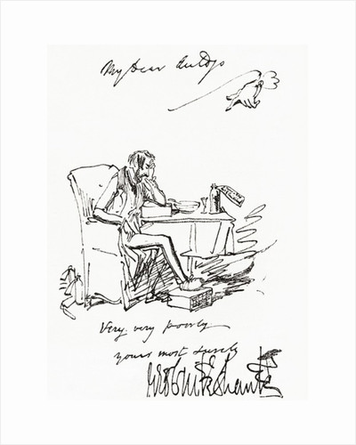Letter by George Cruikshank to his friend Mr. Auldjo by Anonymous