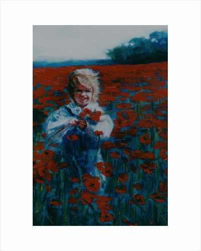 Poppies, 2000 by Lee Campbell