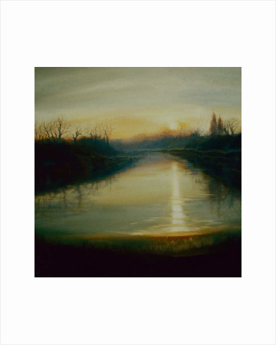 Winter Thames, 2009 by Lee Campbell
