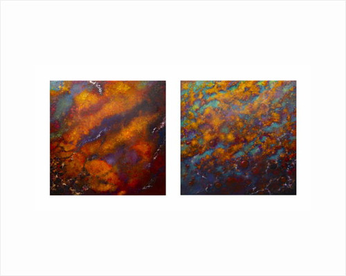 Oxidation 1 and II, 2016 by Lee Campbell