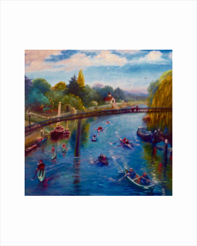 Twickenham Afloat, 2019 by Lee Campbell