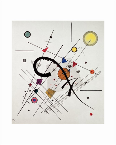 Grey Square by Wassily Kandinsky