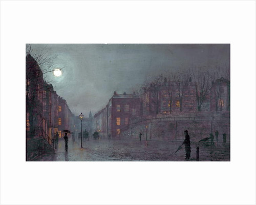 A View of Hampstead, London, 1882 by John Atkinson Grimshaw