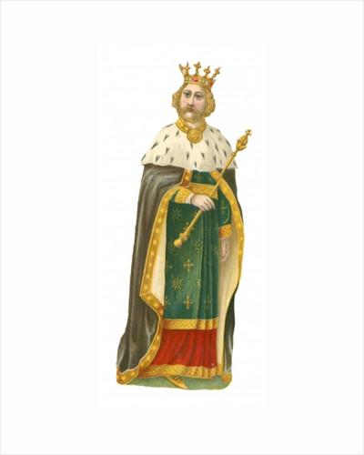 King Richard II by English School