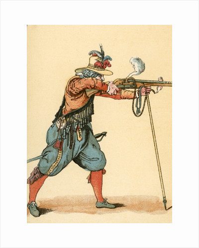 A Musketeer by English School