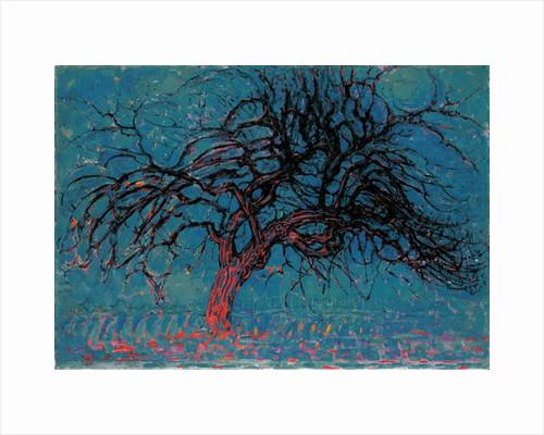 Red tree, 1908 by Piet Mondrian
