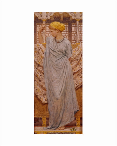 Forget-me-nots by Albert Joseph Moore