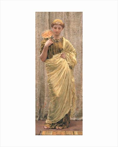 The Gilded Fan by Albert Joseph Moore