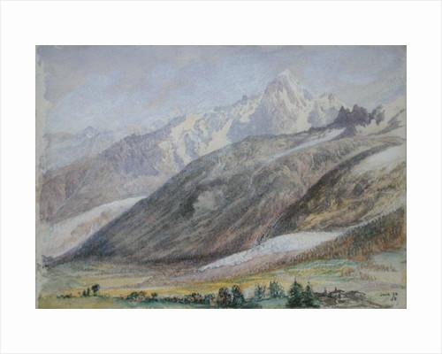Mountain Scene by John Brett