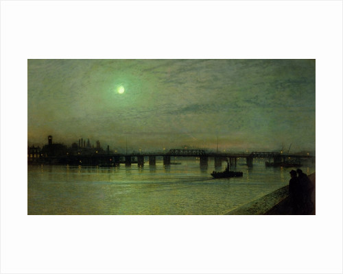 Battersea Bridge by John Atkinson Grimshaw