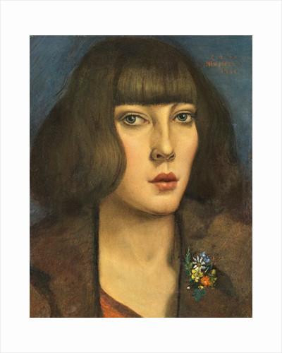 Zillah, of the Hambone, 1922 by Christopher Richard Wynne Nevinson