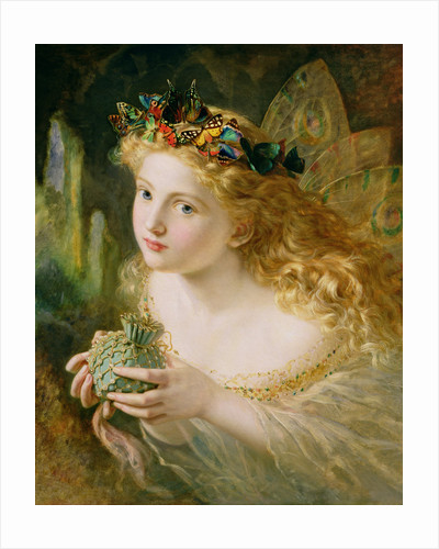 Take the Fair Face of Woman, and Gently Suspending, With Butterflies, Flowers, and Jewels Attending, Thus Your Fairy is Made of Most Beautiful Things by Sophie Anderson