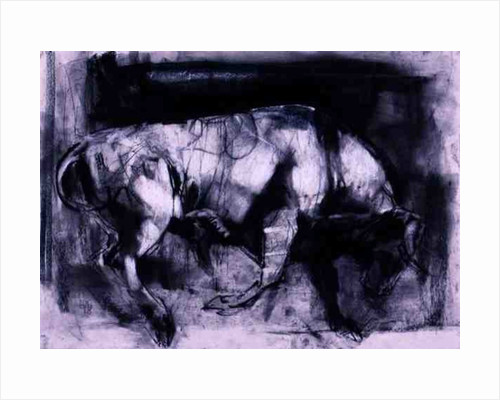 The White Bull (study), 1998 by Mark Adlington