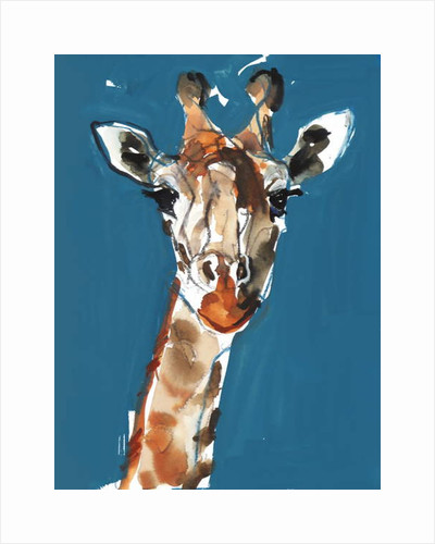 Masai Giraffe, 2018 by Mark Adlington