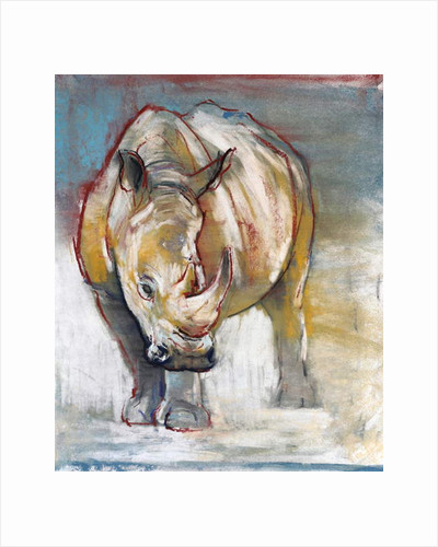 White Rhino, Ol Pejeta, 2018 by Mark Adlington