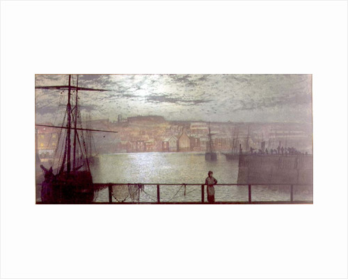 Whitby from Station Quay, 1878 by John Atkinson Grimshaw