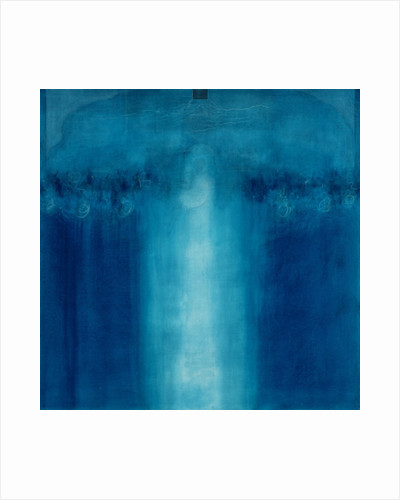Untitled blue painting by Charlie Millar