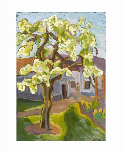 Blooming Pear Tree by Marta Martonfi-Benke
