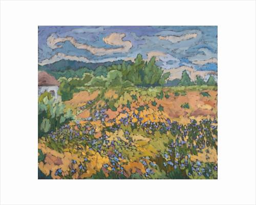 Wild Flowers on the Dyke Bank by Marta Martonfi-Benke