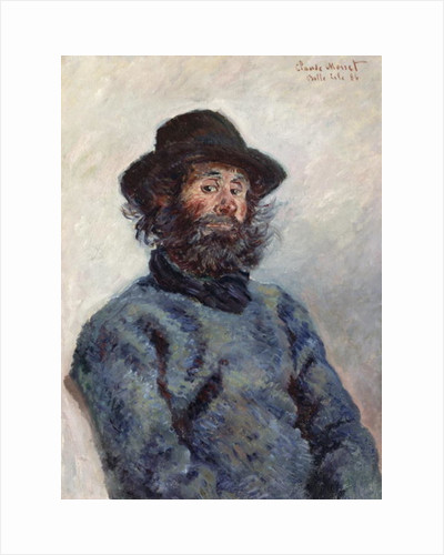 Poly, Fisherman at Belle-Ile, 1886 by Claude Monet