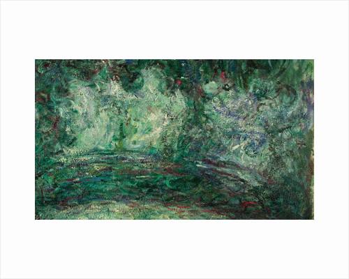 The Japanese Bridge, detail, 1918-19 by Claude Monet