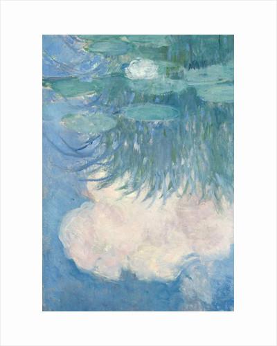 Waterlilies, detail, 1914-17 by Claude Monet