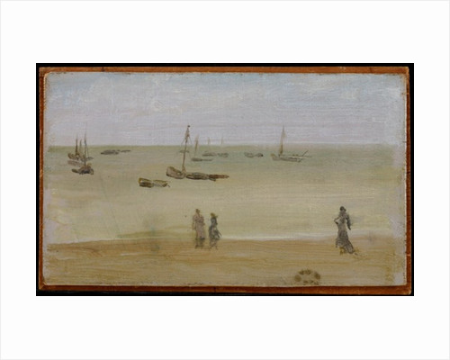 The Seashore, 1883-85 by James Abbott McNeill Whistler